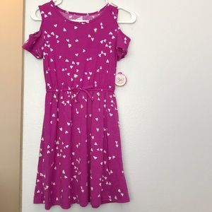 Purple Hearts dress